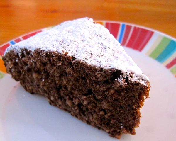 Ricetta dolce con cioccolato e noci