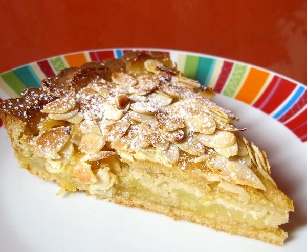 Le ricette della vale crostata di mandorle e mele for Crostata di mele