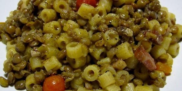 le ricette della vale ? pasta e lenticchie - Cucinare Pasta E Lenticchie